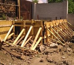 Строительство подпорных стен