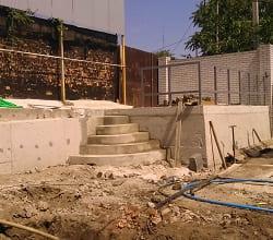 Строительство подпорных стен расчет